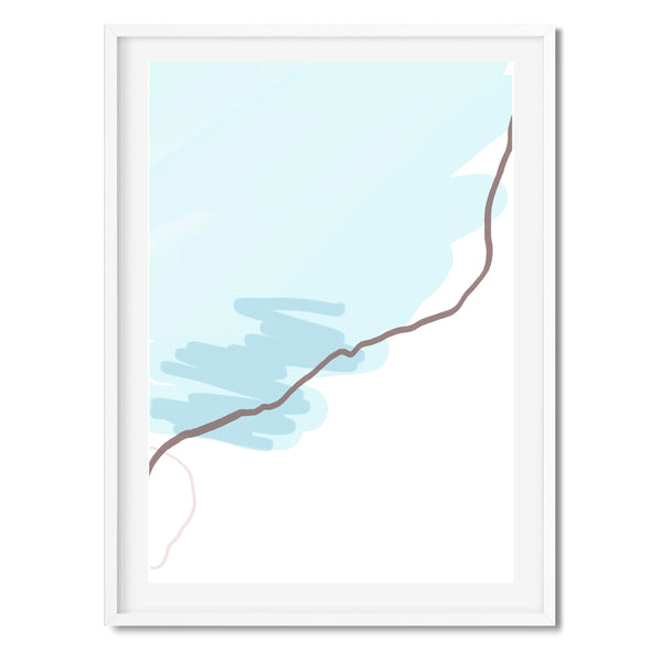 Abstract Lines Wall Art Print - Mode Prints