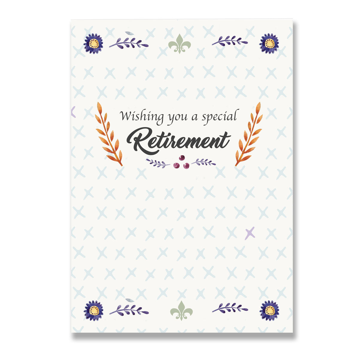 Special Retirement Greeting Card-Greeting Cards-Mode Prints