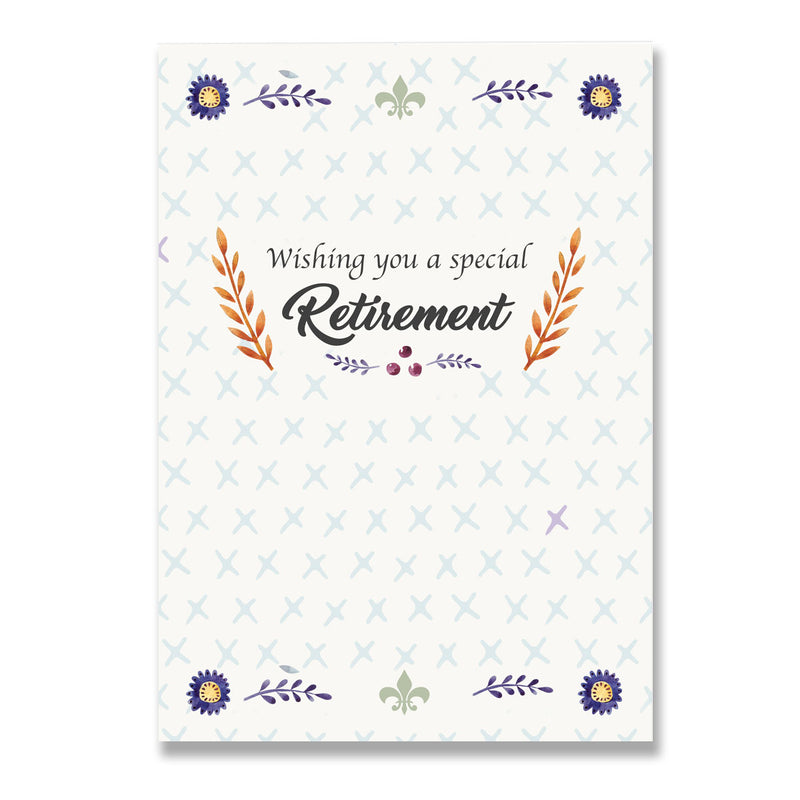 Special Retirement Greeting Card - Mode Prints