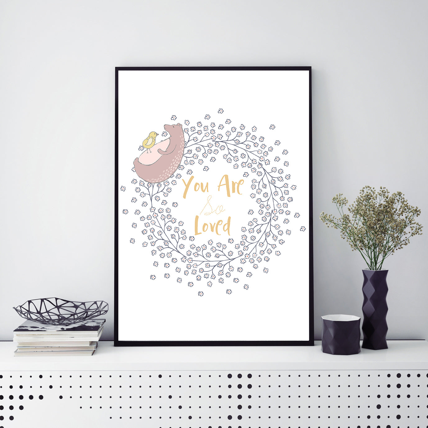 You Are So Loved Poster Print-Print-Mode Prints