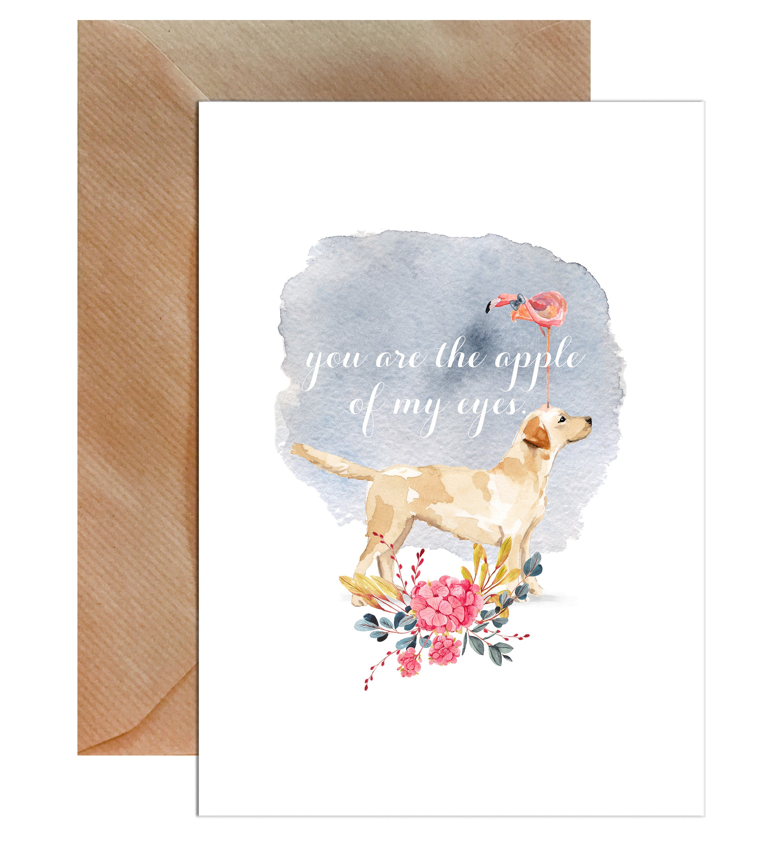 You Are The Apple Of My Eye Valentines Day Greeting Card Mode Prints