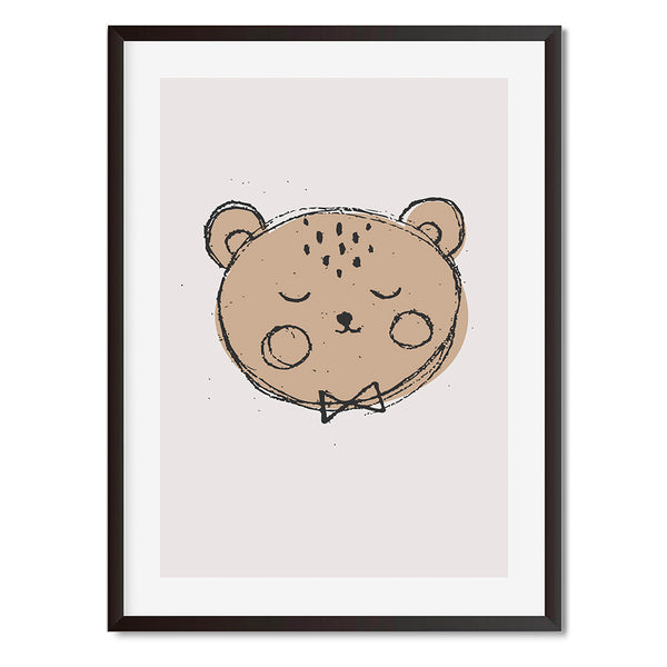 Teddy Bear Wall Art Print