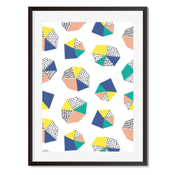 Geometric Shape Wall Art Print - Mode Prints
