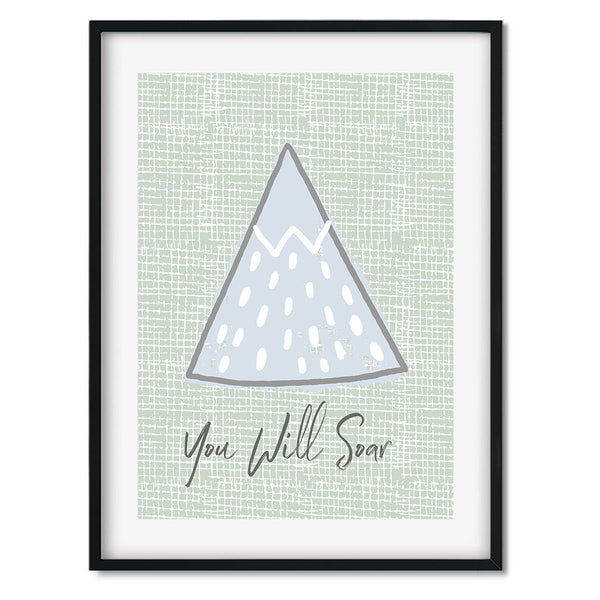 You Will Soar Wall Art Print
