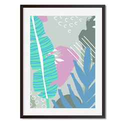 Botanical Pop 1 Wall Art Print - Mode Prints