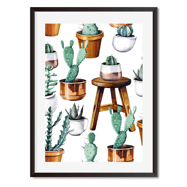 Cacti 15 Wall Art Print - Mode Prints