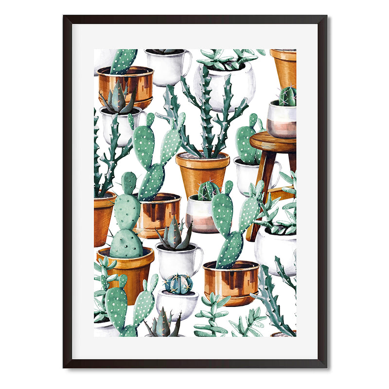 Cacti 14 Wall Art Print - Mode Prints