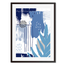 Botanical Pop 4 Wall Art Print - Mode Prints