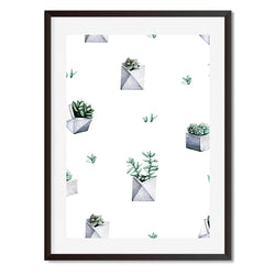 Cacti 7 Wall Art Print - Mode Prints