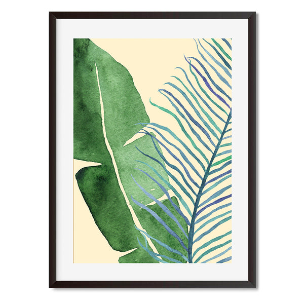 Botanical Leaves 1 Wall Art Print