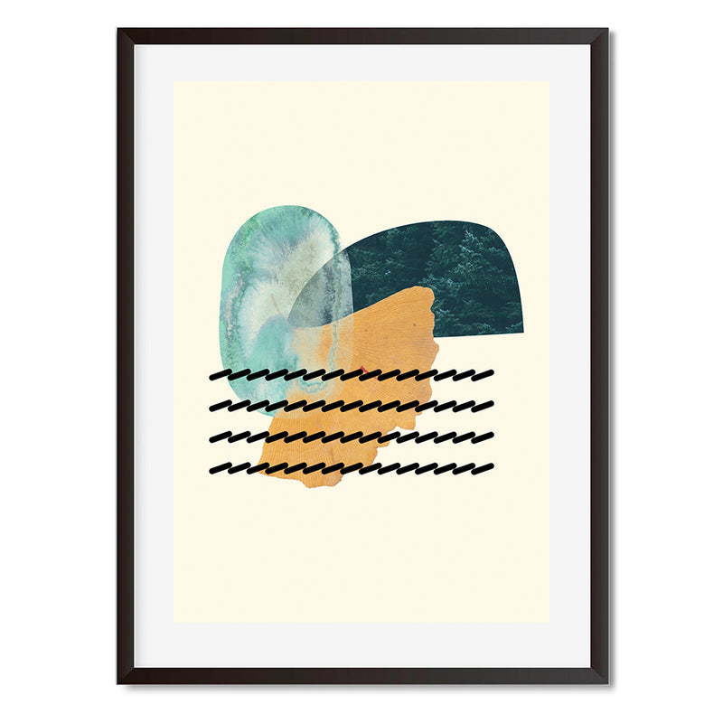 Organic Shapes 3 Wall Art Print - Mode Prints