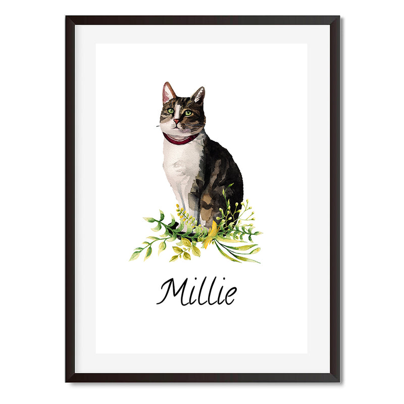 American Shorthair Cat Wall Art Print - Mode Prints