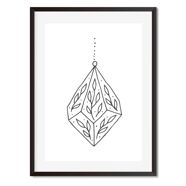 Terrarium Wall Art Print - Mode Prints