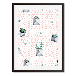 Cacti 1 Wall Art Print - Mode Prints