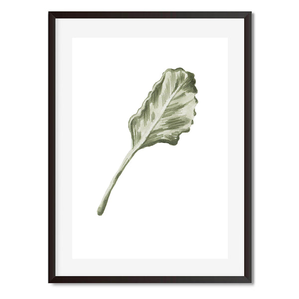 BOTANICAL LEAVES 9 Wall Art Print - Mode Prints
