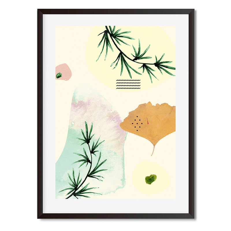 Organic Florals 1 Wall Art Print - Mode Prints