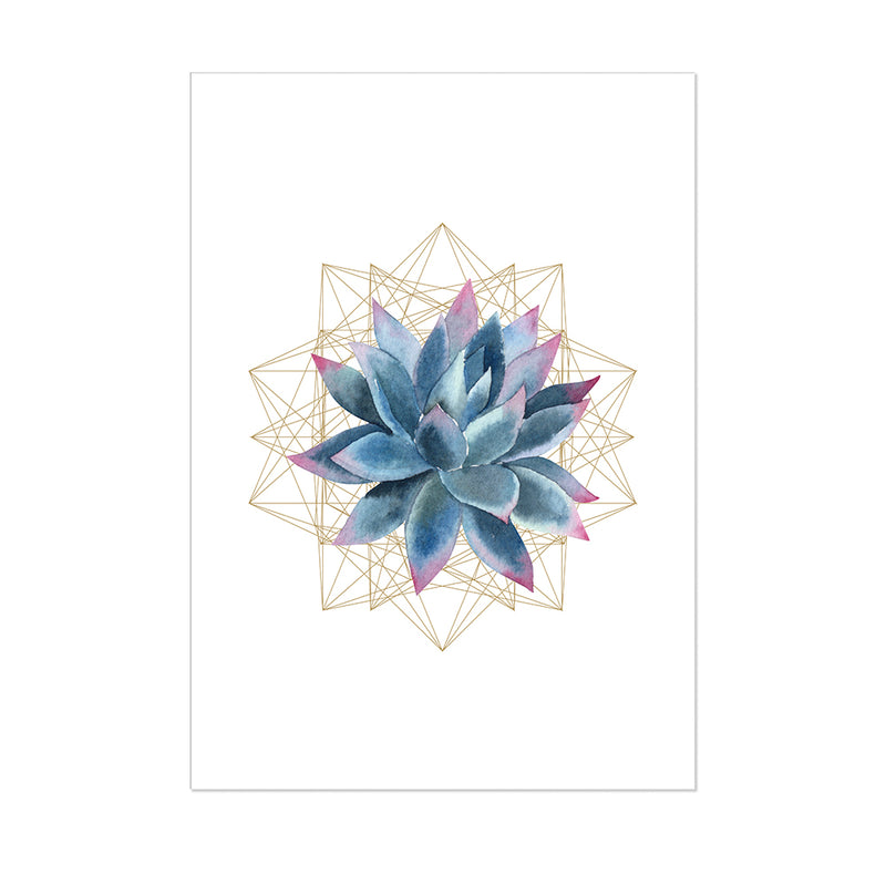Succulent Planter 4 Wall Art Print