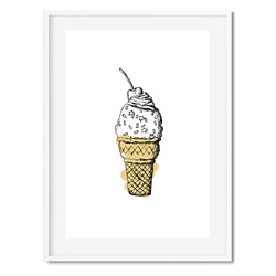 Ice Cream Wall Art Print - Mode Prints