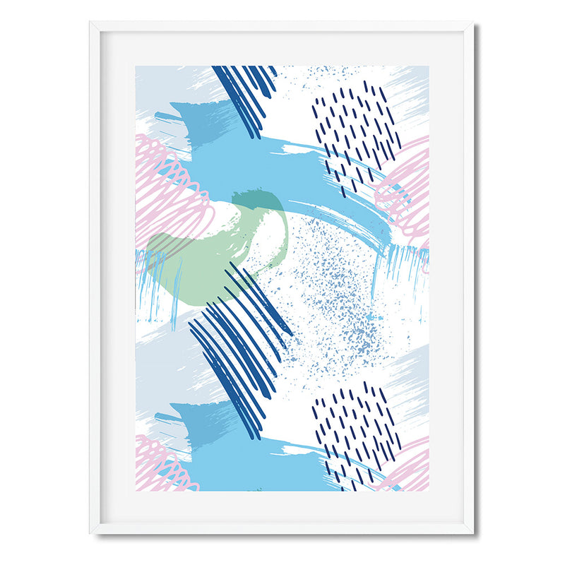 Colour Pop 12 Wall Art Print - Mode Prints