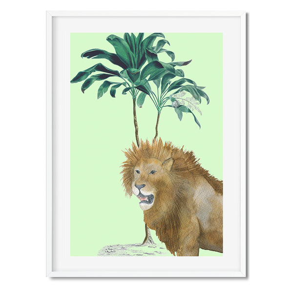 Tropical Jungle 10 Wall Art Print