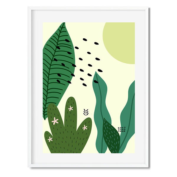 Botanical Pop 5 Wall Art Print - Mode Prints