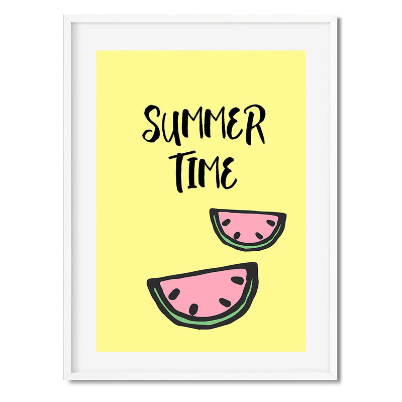 Summer Time Watermelons Wall Art Print