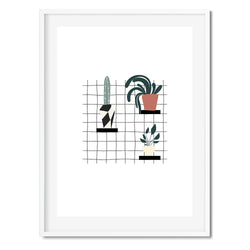 House Plants Wall Art Print - Mode Prints