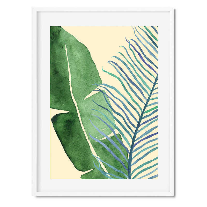 Botanical Leaves 1 Wall Art Print - Mode Prints