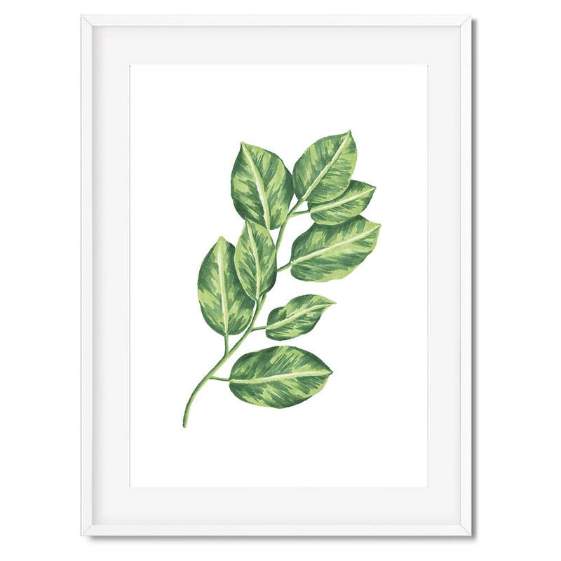 Botanical Leaves 2 Wall Art Print