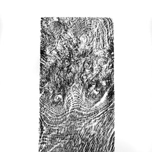 Relief Print Oak Burr ( B)