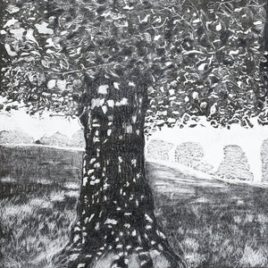 Woodcut Print Dappled Lime at Bywell