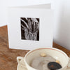 Original Print Card Arisaema Flower