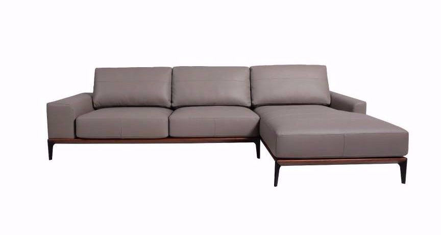 DENRÅ L-SHAPE SOFA (Leather)