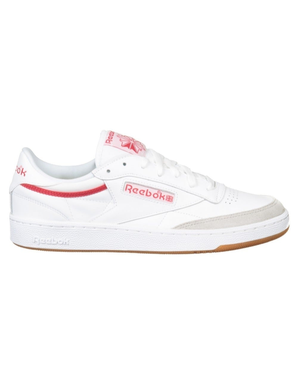Reebok Club C 85 CP (White/Grey/Excellent Red)