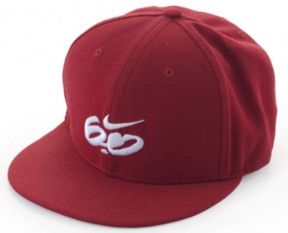 Nike 6.0 Fitted Cap (Burgundy) Size 7 1/4