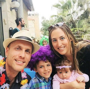 A fun family picture during the holiday of Purim (Book of Esther) from 2 years ago (we're missing our newest addition to the family in the picture :))