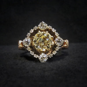 Georgian Style Engagement Ring from Doyle & Doyle