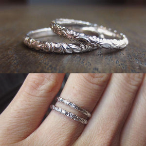 Heirloom by Doyle & Doyle vintage style wedding bands