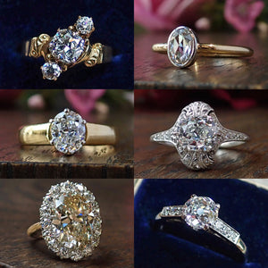 Vintage and Antique diamond engagement rings from Doyle & Doyle