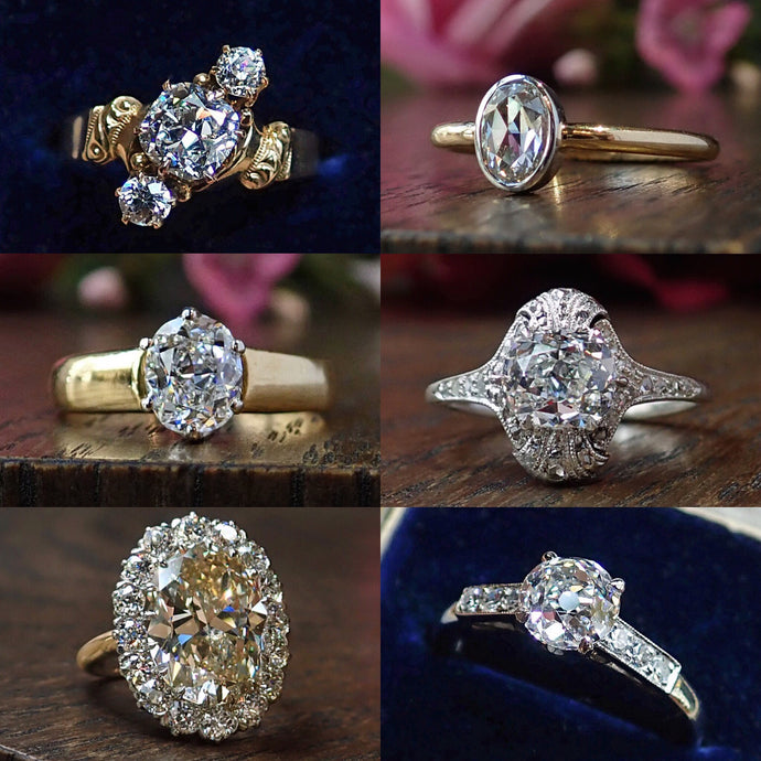 Spring Antique Engagement Ring Event, Part 1
