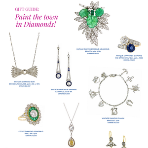 Doyle & Doyle's vintage diamond jewelry glamorous gift guide