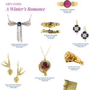 Doyle & Doyle's antique romantic jewelry gift guide