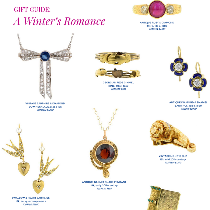 Holiday Gift Guide: Romantic Jewelry
