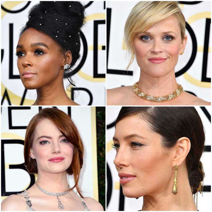 Fave red carpet jewels, 2017 Gold Globes edition