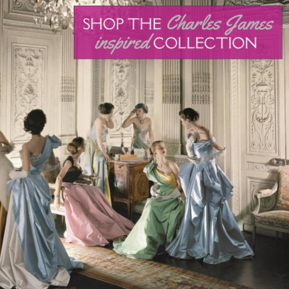 Glamorous Vintage Jewelry Inspired by Charles James