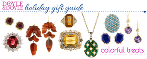 Colorful Treats Jewelry Holiday Gift Guide from Doyle & Doyle
