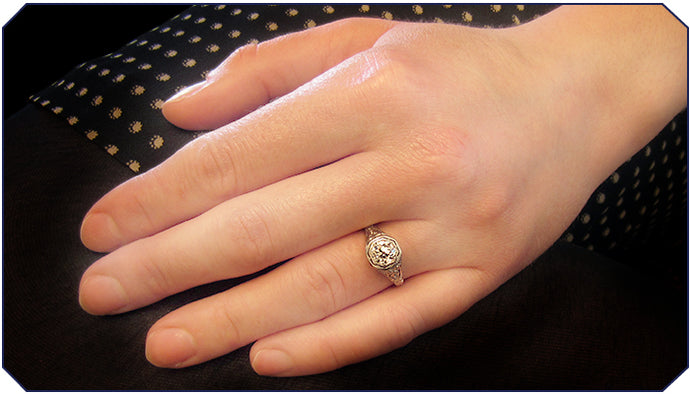 Engagement Ring of the Week: Variations on a (French) Theme