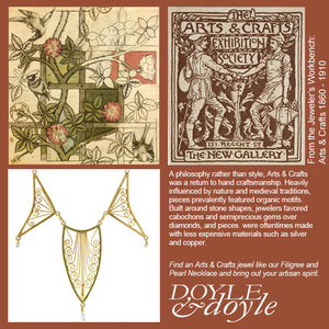 Art's and Crafts Jewelry at Doyle & Doyle