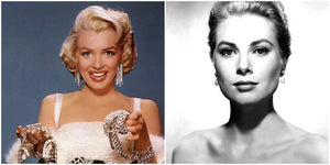Marilyn Monroe and Grace Kelly