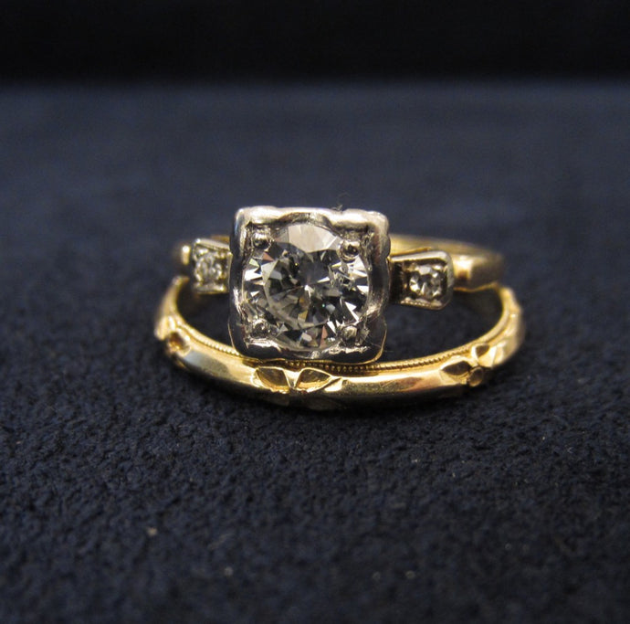Engagement Ring of the Week: A Pin-up Worthy Vintage Piece